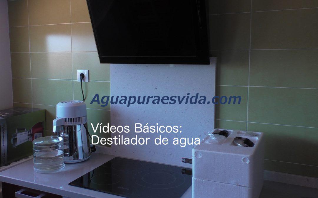 Destilador de agua: Principios de la destilación de agua. Se han guardado todos los cambios.