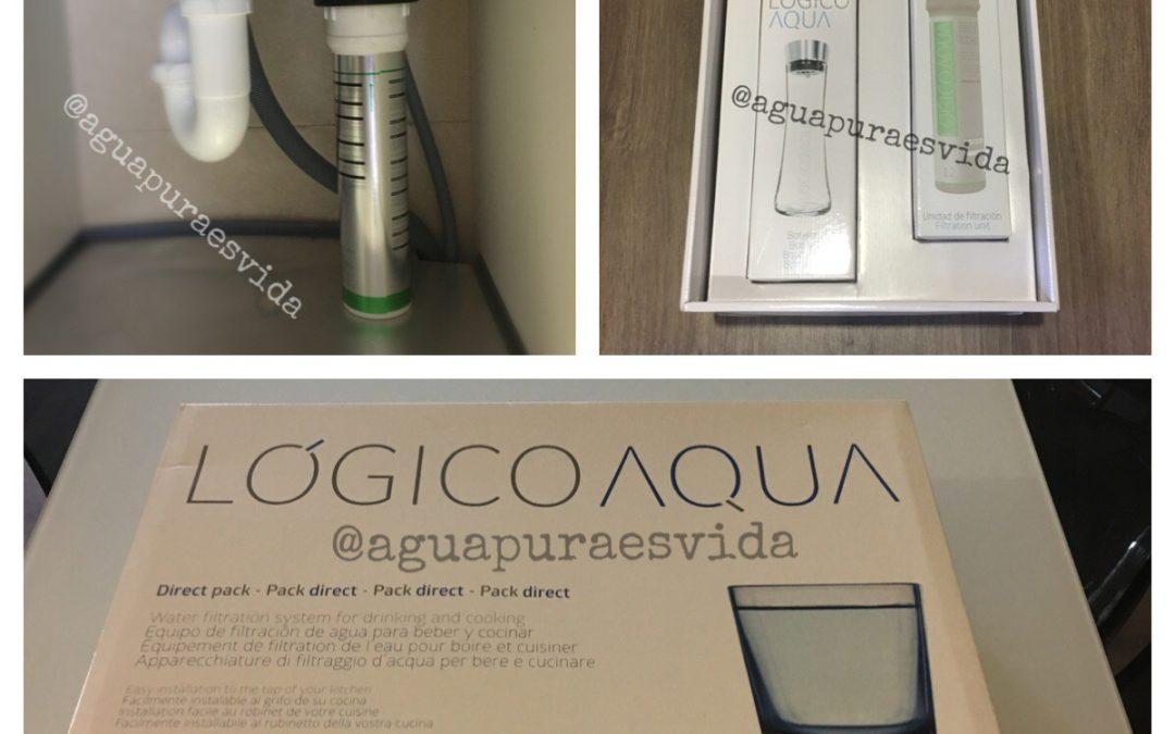 Lógico Aqua. Sencillo y efecaz en el filtrado de agua.