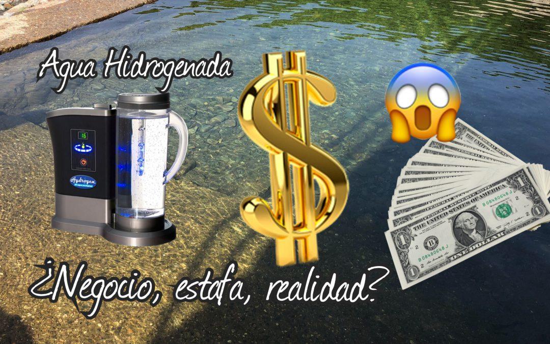 Agua hidrogenada ¿negocio, estafa, realidad?