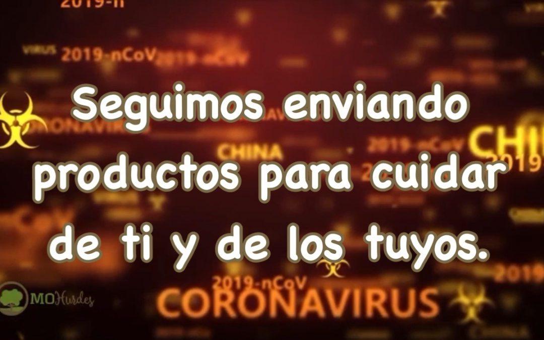 Seguimos cuidando de ti y de los tuyos. Coronavirus.